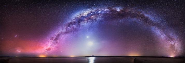 Via Láctea desde el desierto de Atacama